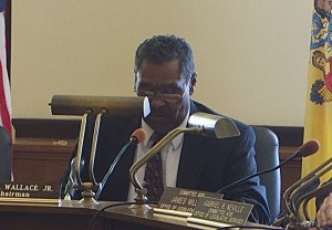 Foremr NJ Suprem Court Wallace - not re-appointed by Christie, but now hard at work as Chairman of the Joint Legislative Committee on Ethical Standards