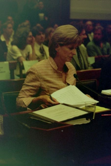 Christie Whitman testifies before the House Judiciary Committee to defend her post 9/11 EPA actions and remarks