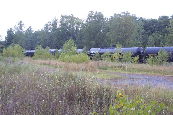 oil trains, near Whitehall NY