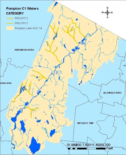 Source: NJDEP TMDL for Ramapo River & Pompton Lake phosphorus imapirments