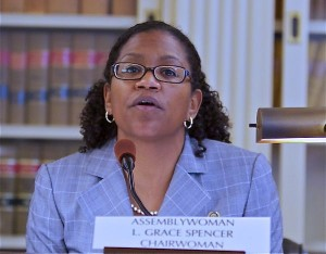 Assembly Environment Committee Chairwoman Grace Spencer