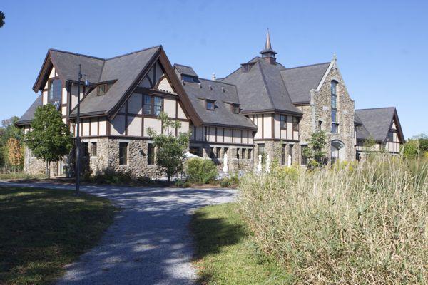 Duke Mansion - spent millions to restore a barn