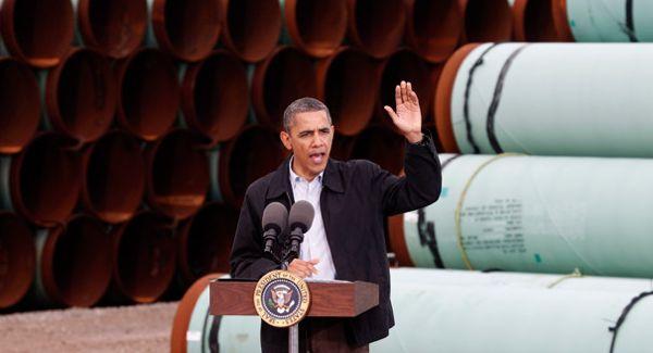 obama pipes