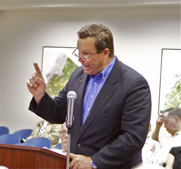 Ryck Suydam, president of the New Jersey Farm Bureau