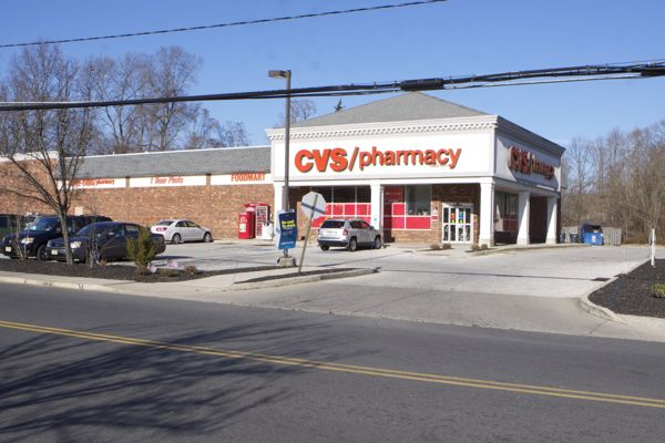CVS - this is not a quaint, historic small rural town design feature