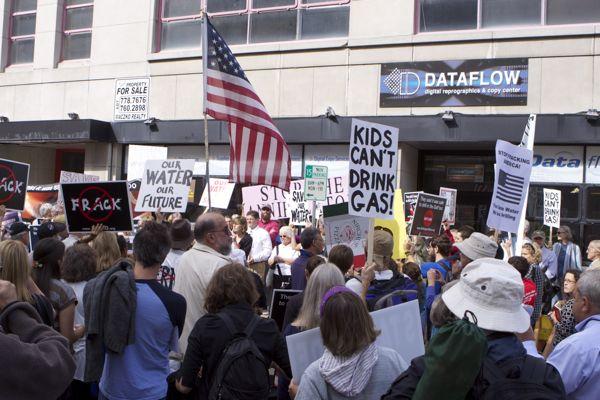Binghamton NY protest (9/13/10)