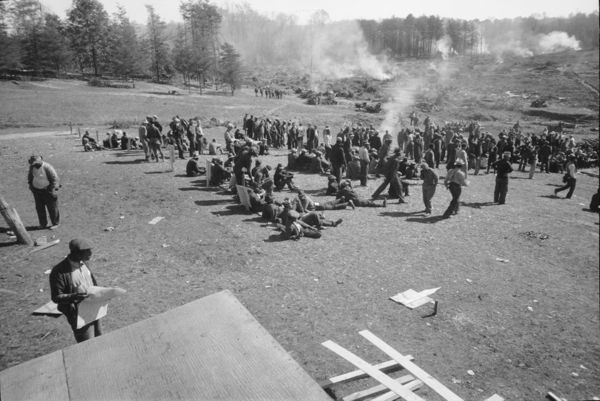 CCC camp in the Tennessee Valley