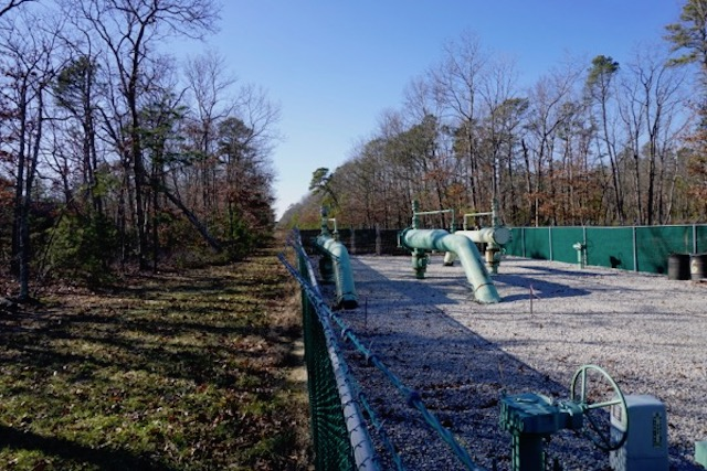 "South Jersey Gas pipeline station - ""somewhere"" in the Pinelands"