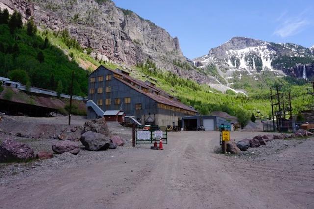 former Idarado Mining Company site