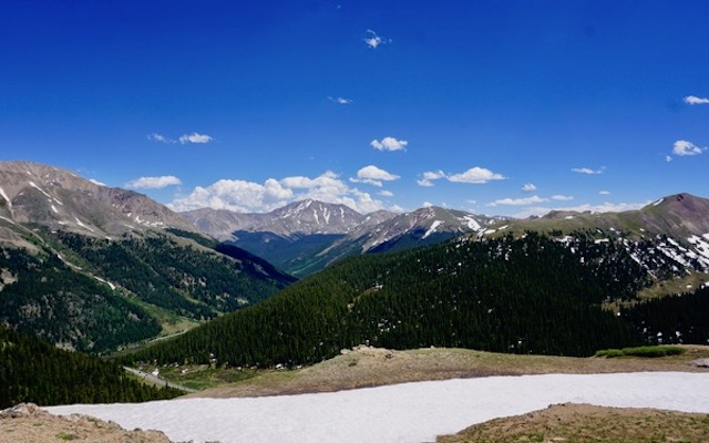 view from Independence Pass
