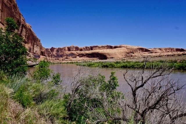 Colorado River, at Moab Utah