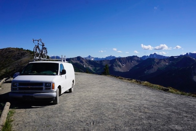 The Beast, at 7,000 feet (Hart's Pass, Northern Cascades)