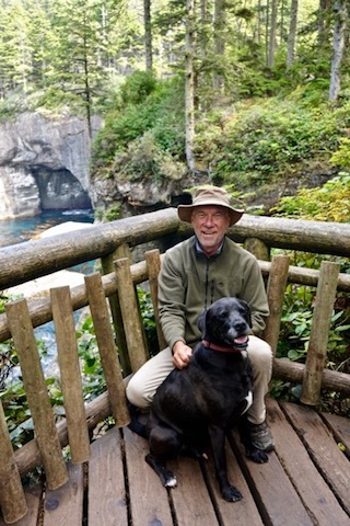 me and Bouy at Cape Flattery