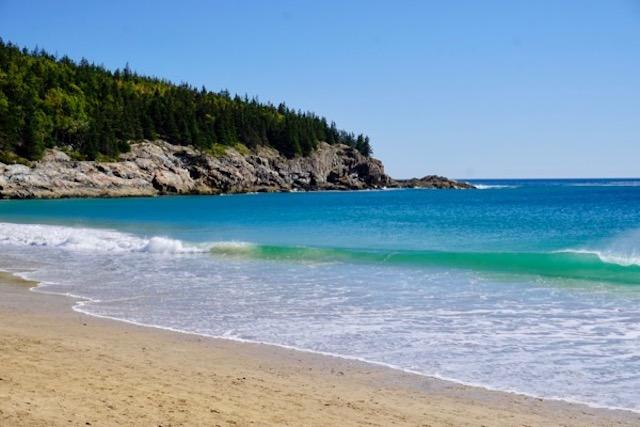 Sand Beach - hardly California, but...
