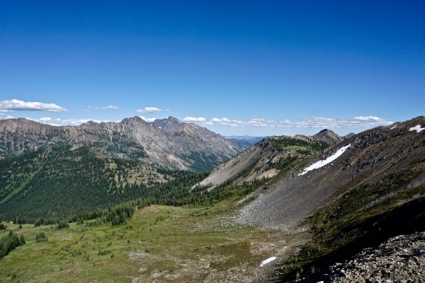 Pasayten Wilderness, view from Hart's Pass, Northern Cascades, Washington State