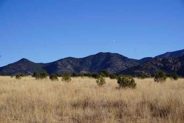 aerostat hovers over the Huachuca Mountains in Sierra Vista Arizona, north of the border