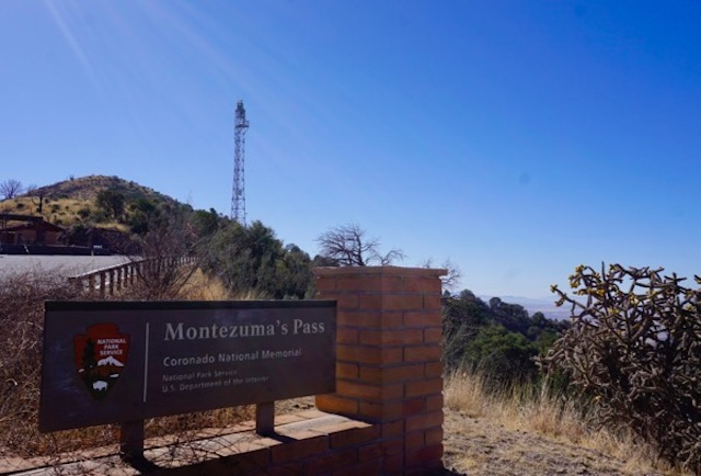 DHS rada/camera tower despoils Montezema's Pass at Coronado National Memorial. How do they get away with this?