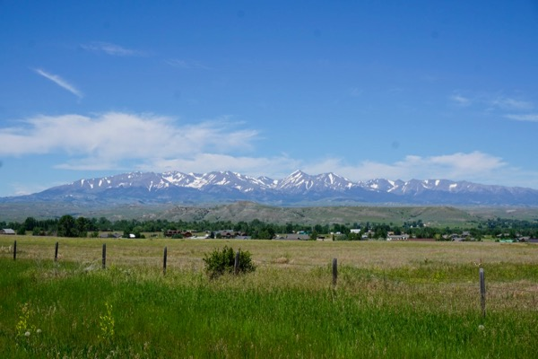 Crazy mountains, western Montana