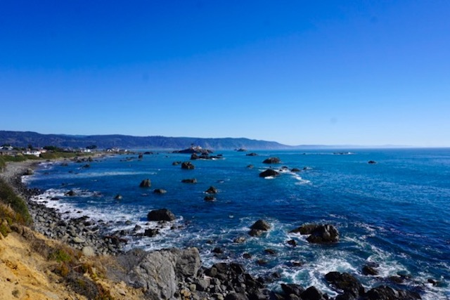 Pacific coast, Crescent City, California