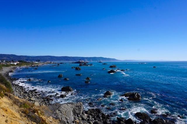 Pacific coast, Crescent City, California