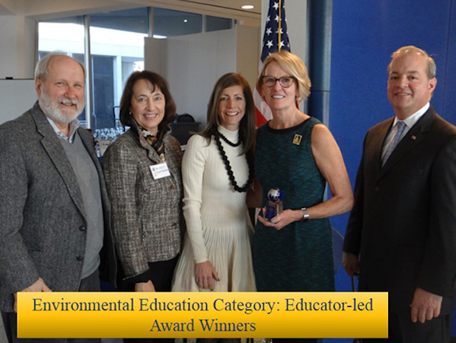 Gov. Environmental Award to NJ Climate Alliance (December 10, 2018)