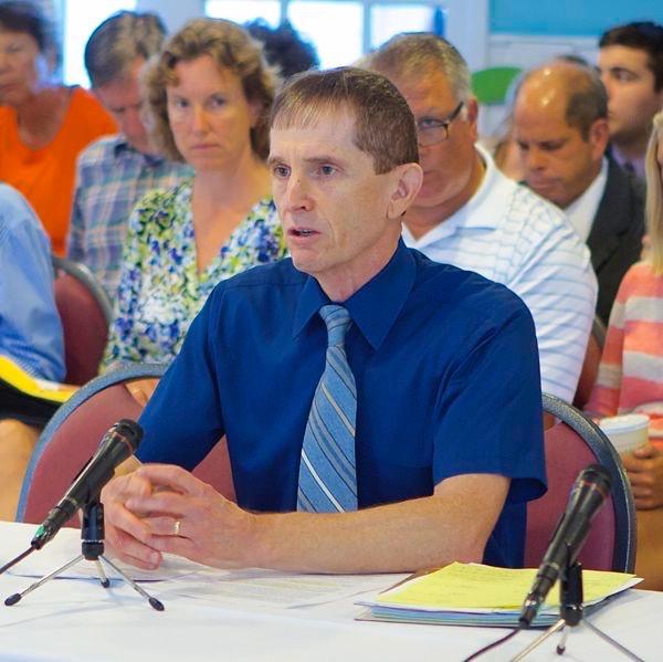 Rutgers Professor Michael Kennish testifies at Lavallettte hearing (Augut 13, 2012)
