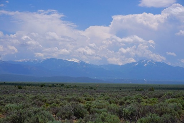 snow capped mountains - sagebrush plateau