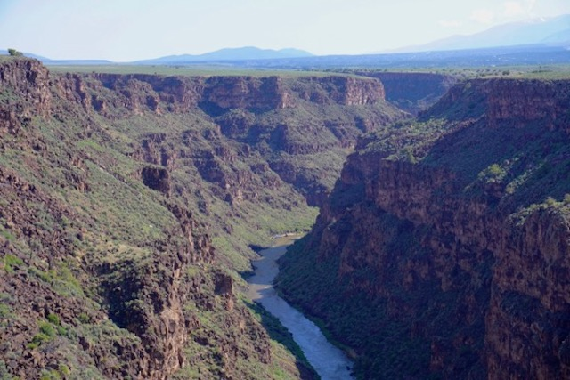Rio Grande gorge, just west of Taos, NM