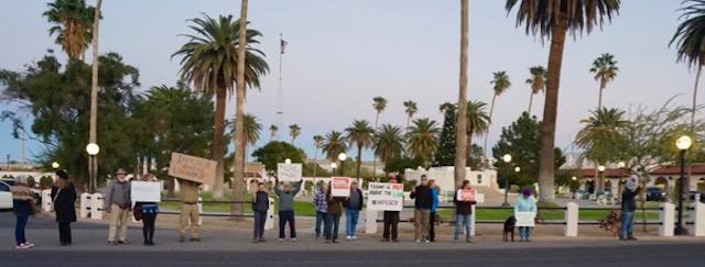 Plaza, Ajo, Arizona (12/17/19)