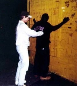 Whitman frisks black man in Camden during NJ State Police stunt